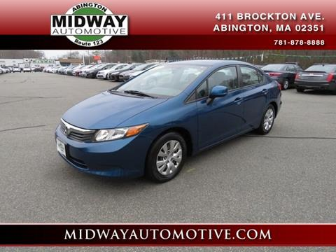 2012 Honda Civic for sale in Abington, MA