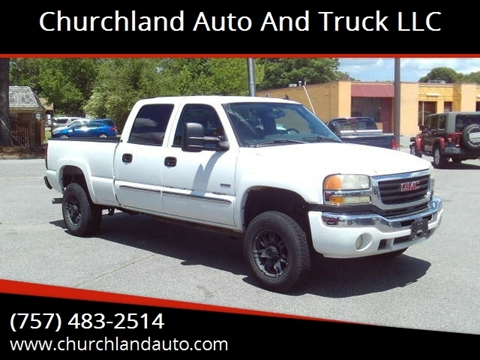 2006 GMC Sierra 2500HD for sale in Portsmouth, VA