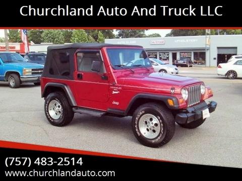 1998 Jeep Wrangler for sale in Portsmouth, VA