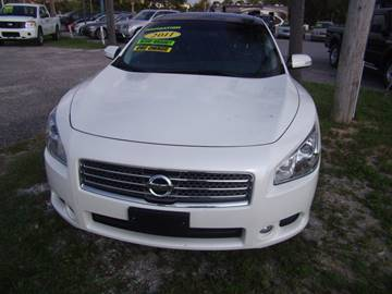 2011 Nissan Maxima for sale at Auto Brokers in Gulf Breeze FL