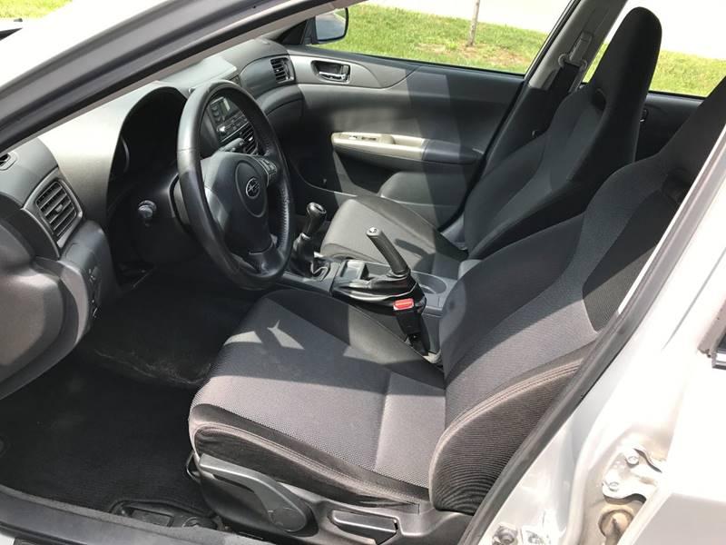 2008 Subaru Impreza AWD WRX 4dr Sedan 5M w/VDC - Grayslake IL