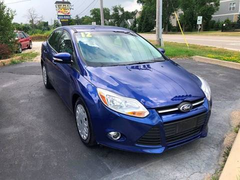 2012 Ford Focus for sale at GLOBAL AUTOMOTIVE in Gages Lake IL