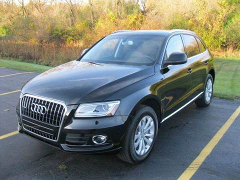 2013 Audi Q5 for sale at GLOBAL AUTOMOTIVE in Gages Lake IL