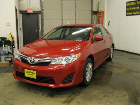 2013 Toyota Camry for sale at GLOBAL AUTOMOTIVE in Gages Lake IL