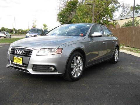 2010 Audi A4 for sale at GLOBAL AUTOMOTIVE in Gages Lake IL