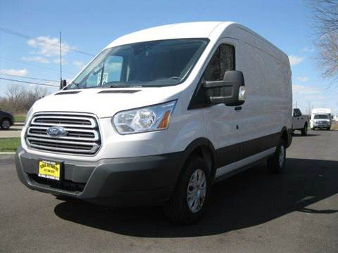 2015 Ford Transit Cargo for sale at GLOBAL AUTOMOTIVE in Gages Lake IL