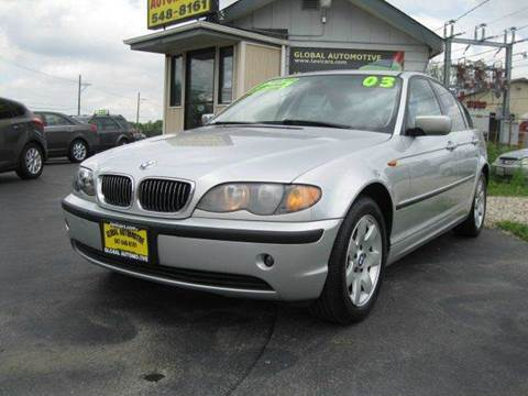 2003 BMW 3 Series for sale at GLOBAL AUTOMOTIVE in Gages Lake IL