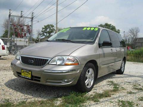 2002 Ford Windstar for sale at GLOBAL AUTOMOTIVE in Gages Lake IL