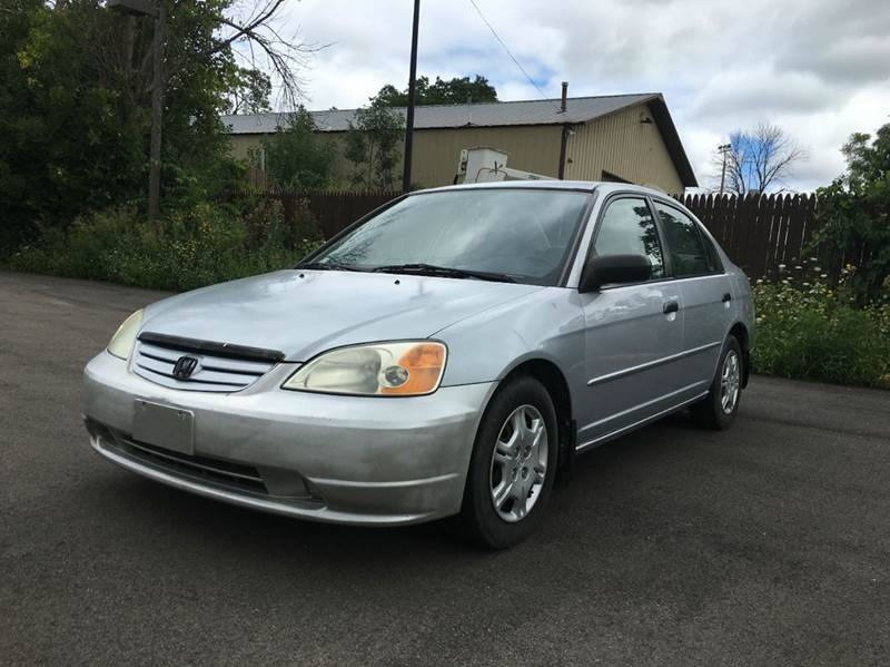 2001 Honda Civic for sale at GLOBAL AUTOMOTIVE in Grayslake IL