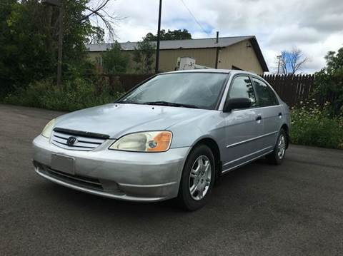 2001 Honda Civic for sale at GLOBAL AUTOMOTIVE in Gages Lake IL