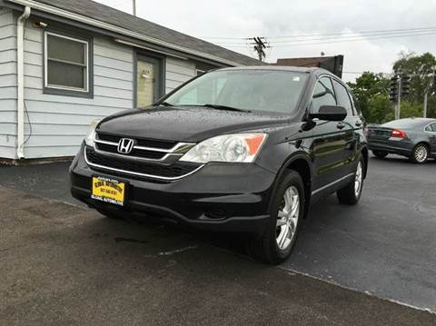 2010 Honda CR-V for sale at GLOBAL AUTOMOTIVE in Gages Lake IL