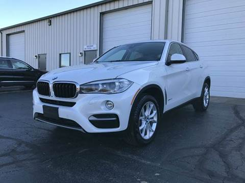 2016 BMW X6 for sale at GLOBAL AUTOMOTIVE in Gages Lake IL