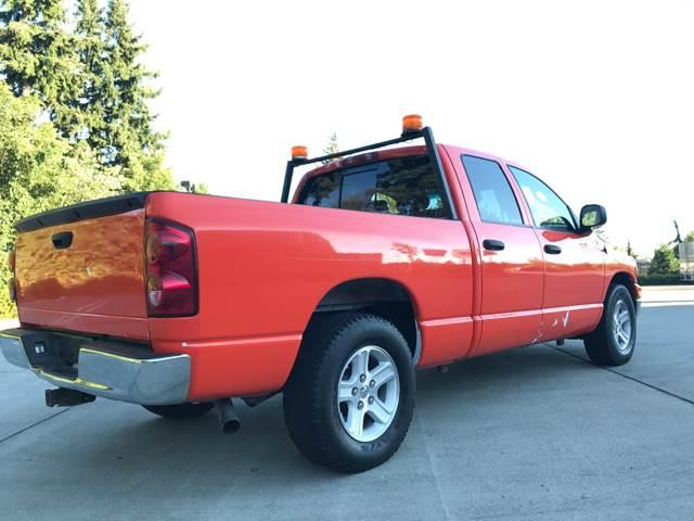 2008 Dodge Ram Pickup 1500 SLT 4dr Quad Cab LB RWD - Seattle WA