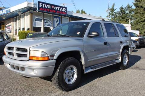 1999 Dodge Durango for sale in Seattle, WA