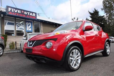 2014 Nissan JUKE for sale in Seattle, WA