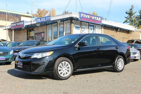 2013 Toyota Camry for sale in Seattle, WA