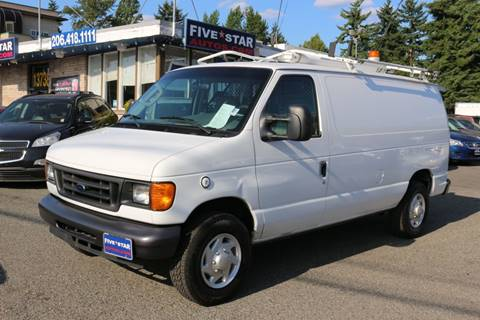 2007 Ford E-Series Cargo for sale in Seattle, WA