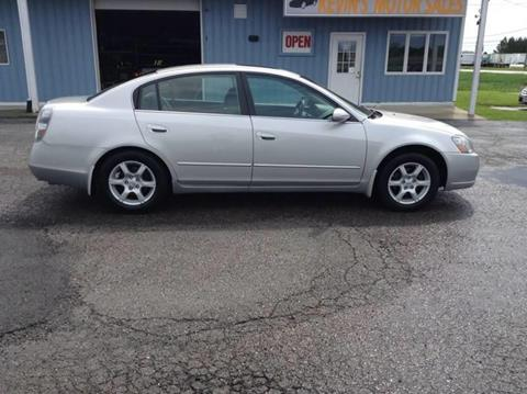 2006 Nissan Altima For Sale >> Nissan Altima For Sale In Montpelier Oh Kevin S Motor Sales