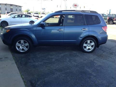 2010 Subaru Forester for sale at Kevin's Motor Sales in Montpelier OH