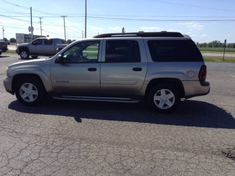 2003 Chevrolet TrailBlazer for sale at Kevin's Motor Sales in Montpelier OH