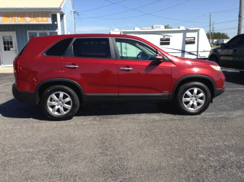 2011 Kia Sorento for sale at Kevin's Motor Sales in Montpelier OH