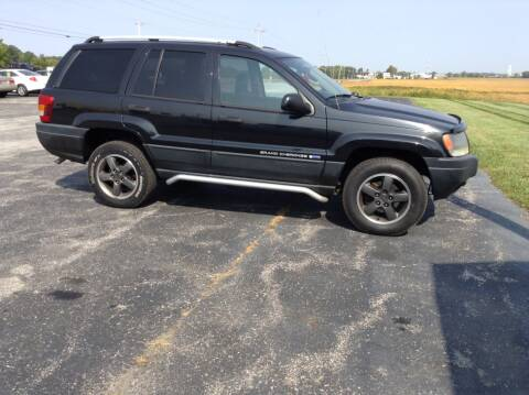 2004 Jeep Grand Cherokee for sale at Kevin's Motor Sales in Montpelier OH