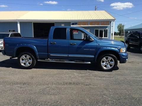 2003 Dodge Ram Pickup 1500 for sale at Kevin's Motor Sales in Montpelier OH