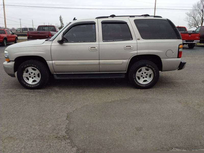 2006 Chevrolet Tahoe for sale at Kevin's Motor Sales in Montpelier OH