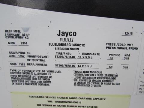 2016 Jayco 24RKS