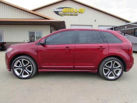 2013 Ford Edge Sport for sale at Chase Auto & RV in Fort Pierre SD