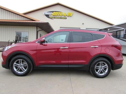 2018 Hyundai Santa Fe Sport 2.4L for sale at Chase Auto & RV in Fort Pierre SD