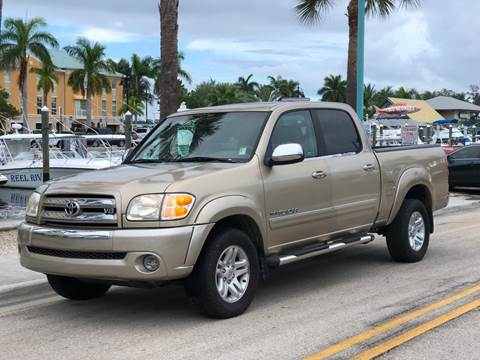 2004 Toyota Tundra for sale at L G AUTO SALES in Boynton Beach FL