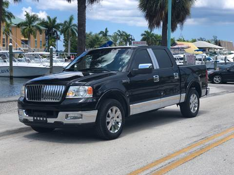 2006 Lincoln Mark LT for sale at L G AUTO SALES in Boynton Beach FL