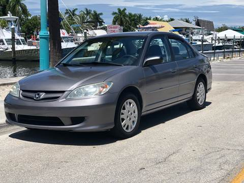 2004 Honda Civic for sale at L G AUTO SALES in Boynton Beach FL