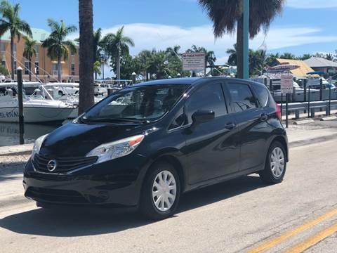 2015 Nissan Versa Note for sale at L G AUTO SALES in Boynton Beach FL