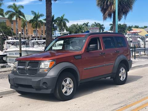 2007 Dodge Nitro for sale at L G AUTO SALES in Boynton Beach FL