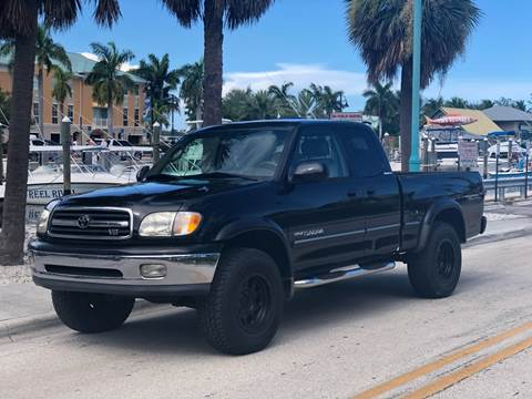 2000 Toyota Tundra for sale at L G AUTO SALES in Boynton Beach FL