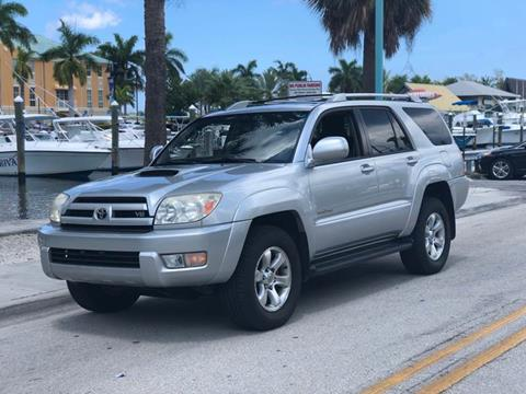 2005 Toyota 4Runner for sale at L G AUTO SALES in Boynton Beach FL