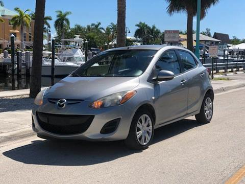 2012 Mazda MAZDA2 for sale at L G AUTO SALES in Boynton Beach FL