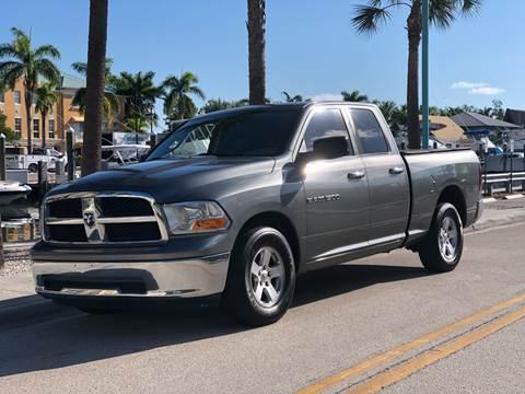 2011 RAM Ram Pickup 1500 for sale at L G AUTO SALES in Boynton Beach FL