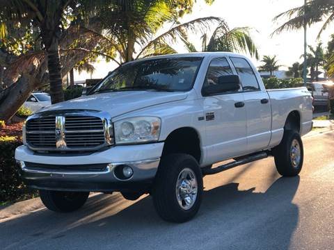 2008 Dodge Ram Pickup 2500 for sale at L G AUTO SALES in Boynton Beach FL