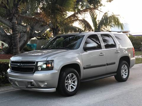 2007 Chevrolet Tahoe for sale at L G AUTO SALES in Boynton Beach FL
