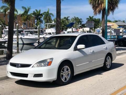 2007 Honda Accord for sale at L G AUTO SALES in Boynton Beach FL