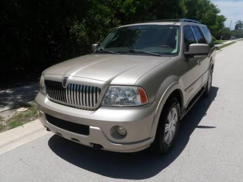 2004 Lincoln Navigator for sale at L G AUTO SALES in Boynton Beach FL