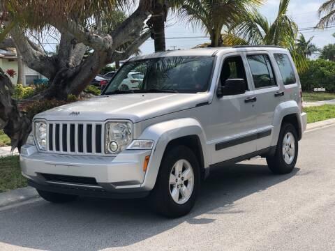 2012 Jeep Liberty for sale at L G AUTO SALES in Boynton Beach FL