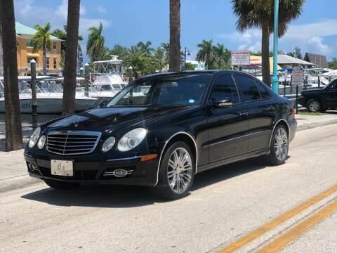 2008 Mercedes-Benz E-Class for sale at L G AUTO SALES in Boynton Beach FL