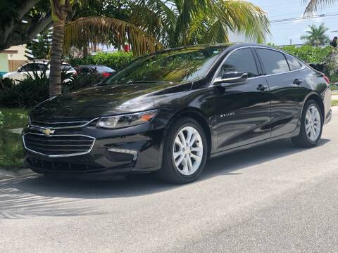 2018 Chevrolet Malibu for sale at L G AUTO SALES in Boynton Beach FL