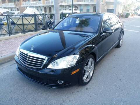2008 Mercedes-Benz S-Class for sale at L G AUTO SALES in Boynton Beach FL