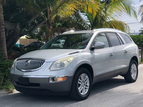 2009 Buick Enclave for sale at L G AUTO SALES in Boynton Beach FL