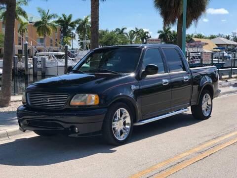 2002 Ford F-150 for sale at L G AUTO SALES in Boynton Beach FL